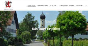 Homepage von Erpfting